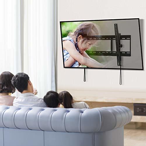 色ブラック PERLESMITH テレビ壁掛け金具 3770インチ 液晶テレビ対応 耐荷重60kg 左右移動式 角度調節可能 VE_画像6