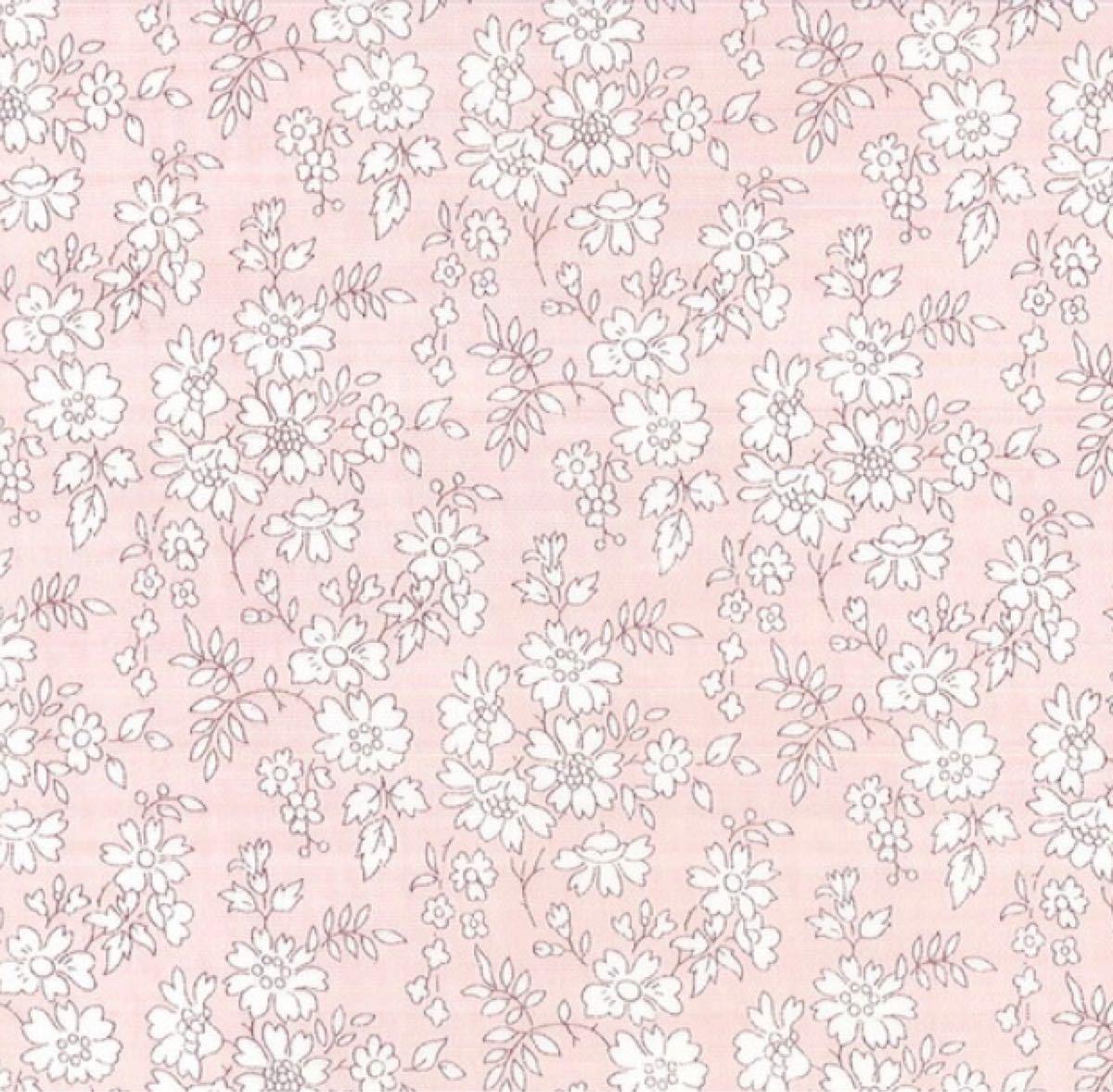リバティ カペル ピンク 生地幅×300cm 国産タナローン  はぎれ