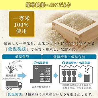 白 5kg 【精米】 低温製法米 白米 岩手県産 ひとめぼれ 5kg 令和2年産_画像6