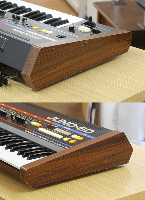 ★美品 Roland/ローランド Polyphonic Synthesizer JUNO-60 61鍵 アナログシンセサイザー キーボード ヴィンテージ ジュノ 80's_画像3