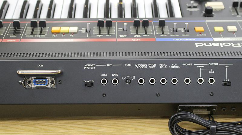 ★美品 Roland/ローランド Polyphonic Synthesizer JUNO-60 61鍵 アナログシンセサイザー キーボード ヴィンテージ ジュノ 80's_画像8