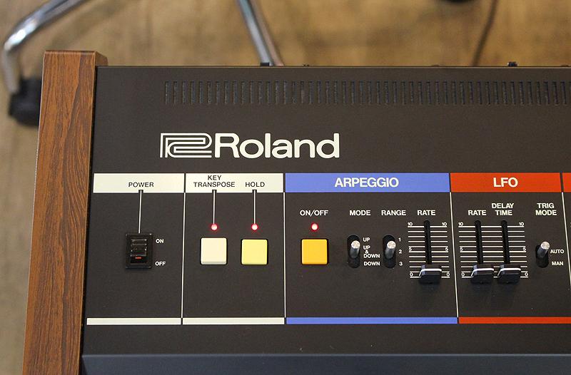 ★美品 Roland/ローランド Polyphonic Synthesizer JUNO-60 61鍵 アナログシンセサイザー キーボード ヴィンテージ ジュノ 80's_画像6