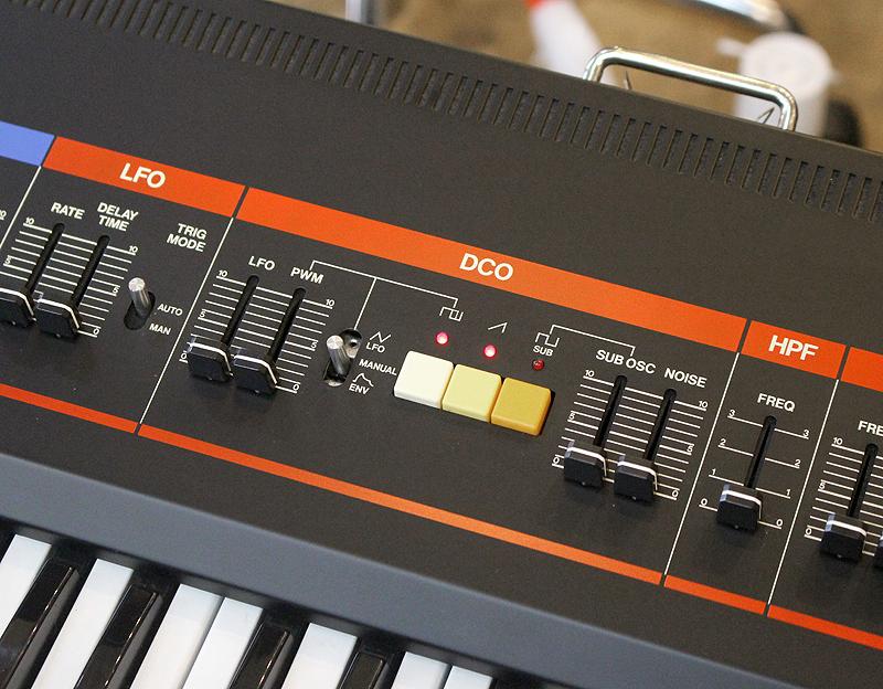★美品 Roland/ローランド Polyphonic Synthesizer JUNO-60 61鍵 アナログシンセサイザー キーボード ヴィンテージ ジュノ 80's_画像5