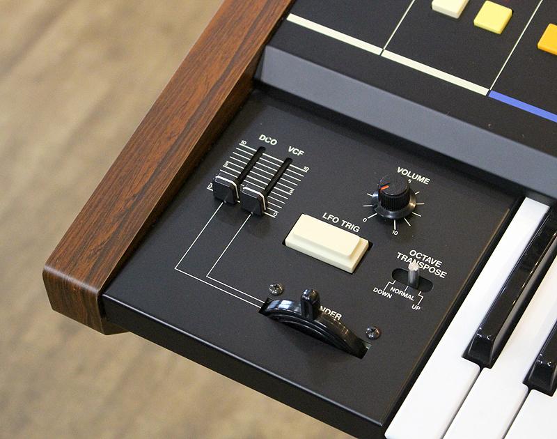 ★美品 Roland/ローランド Polyphonic Synthesizer JUNO-60 61鍵 アナログシンセサイザー キーボード ヴィンテージ ジュノ 80's_画像7