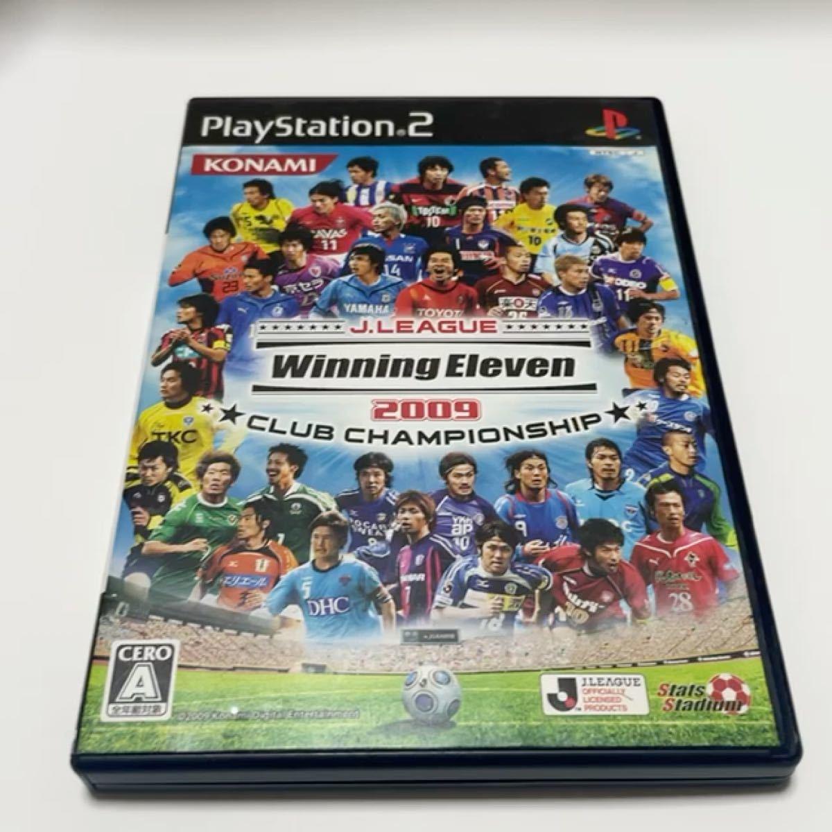 PS2 ウイニングイレブン Jリーグ 【PS2】 Jリーグウイニングイレブン2009 クラブチャンピオンシップ