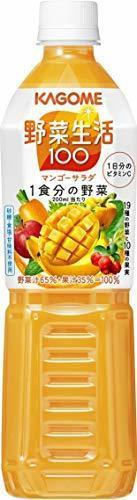【新品】720ml×15本 カゴメ 野菜生活100 マンゴーサラダ スマートPET 720ml×15本XLRZ_画像8