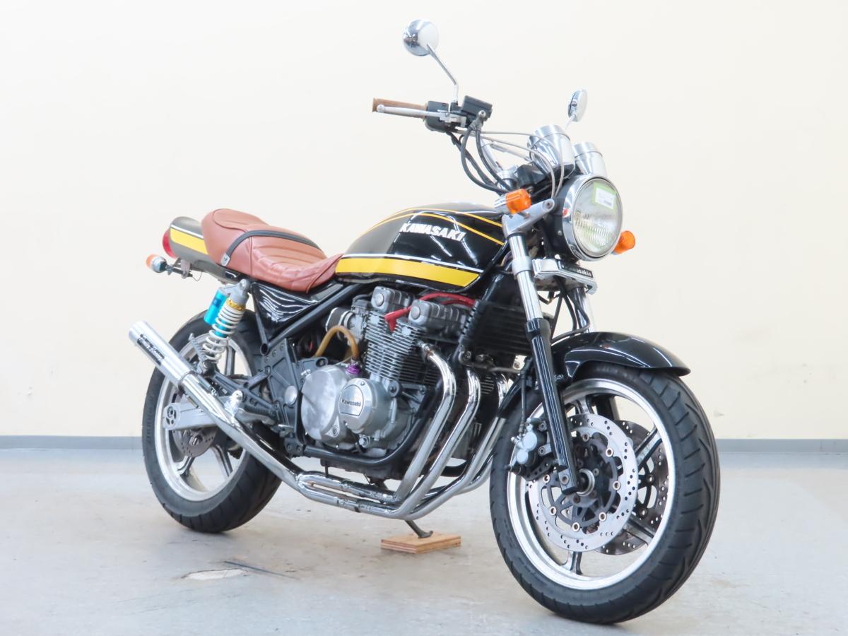 「特別出品!! カワサキ ZEPHYR400 【動画有】ローン可 Z2仕様 タイガーカラー ZR400C ゼファー400 カスタム車 400cc KAWASAKI 売り切り」の画像1