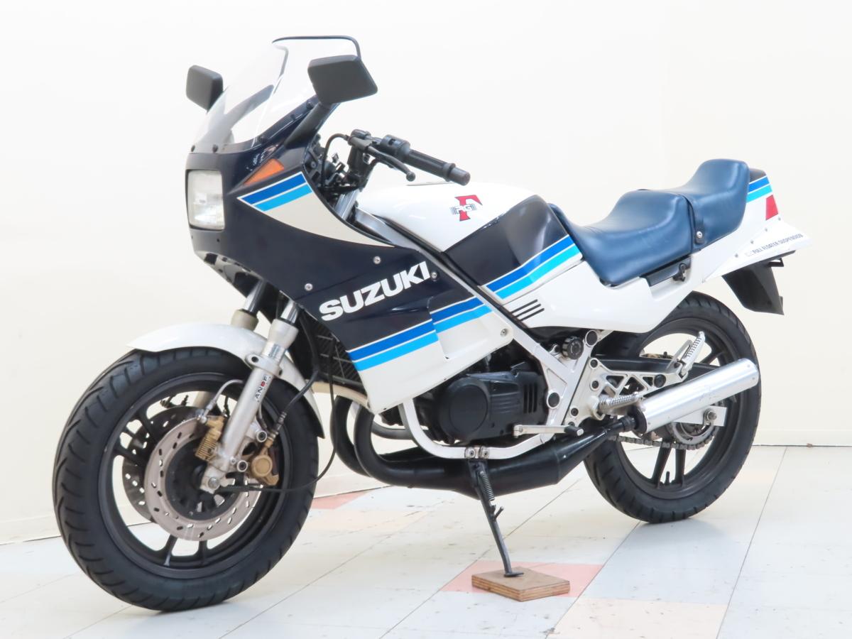 「特別出品!! スズキ RG250ガンマ 【動画有】ローン可 美車 旧車 2スト 250cc GJ21A RGV250 Γ SUZUKI 売り切り」の画像3