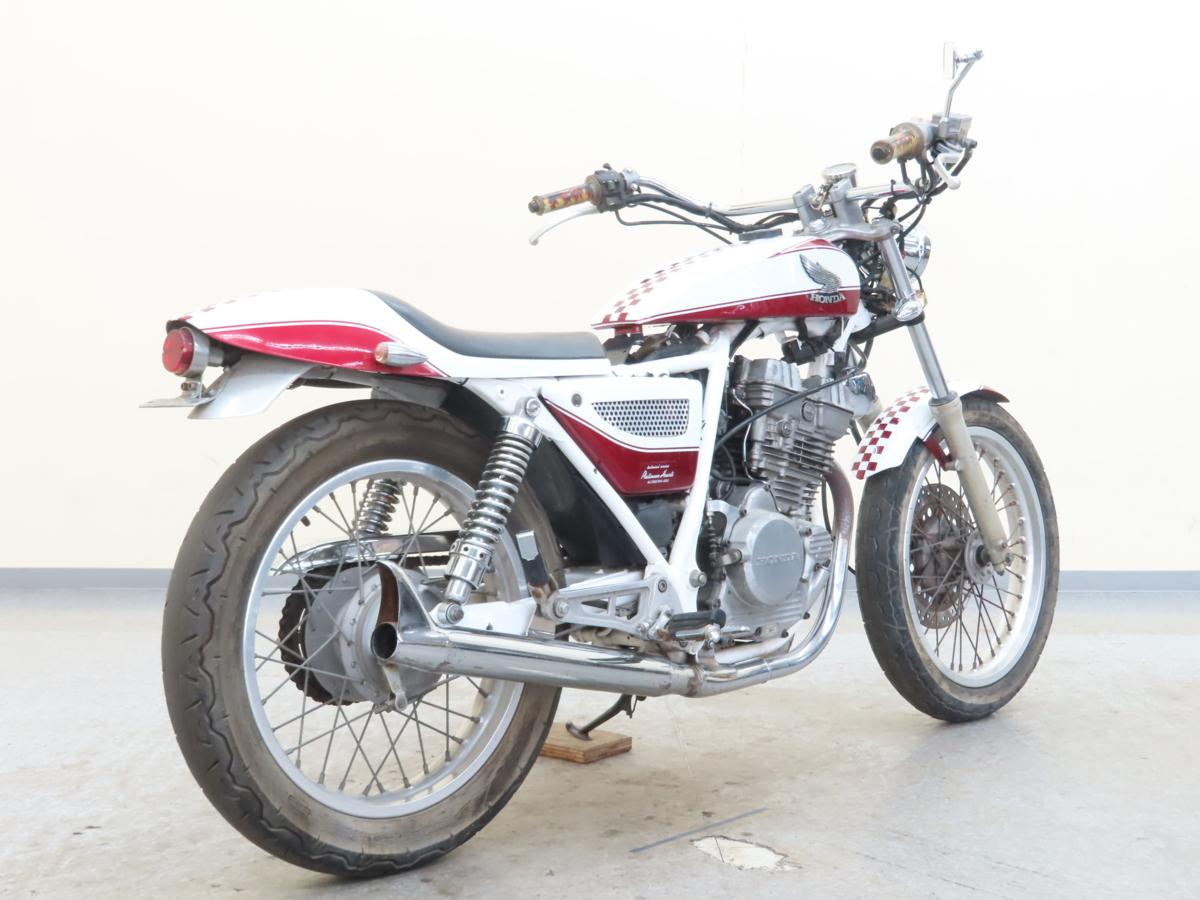 「特別出品!! ホンダ GB250クラブマン 【動画有】ローン可 MC10 250cc カスタム車 トラッカーカスタム clubman HONDA 売り切り」の画像2