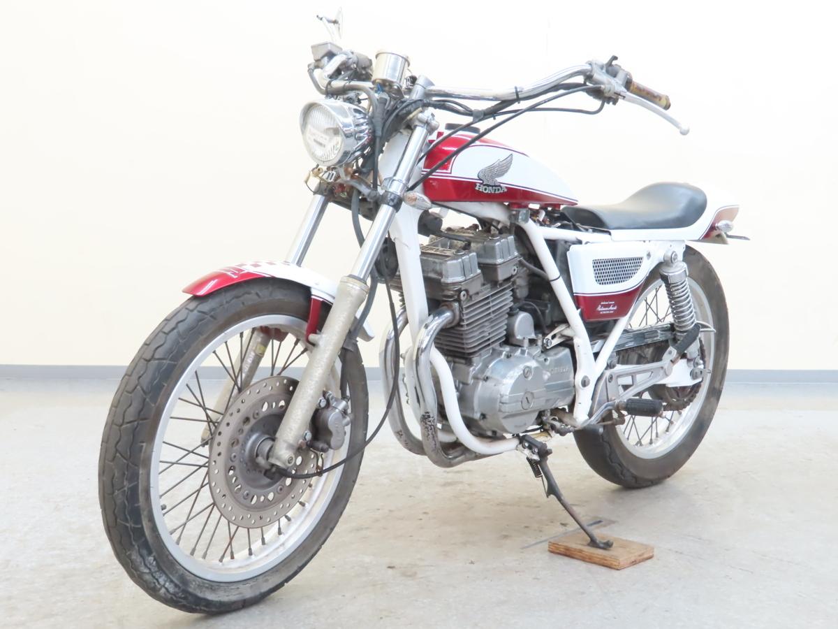 「特別出品!! ホンダ GB250クラブマン 【動画有】ローン可 MC10 250cc カスタム車 トラッカーカスタム clubman HONDA 売り切り」の画像3