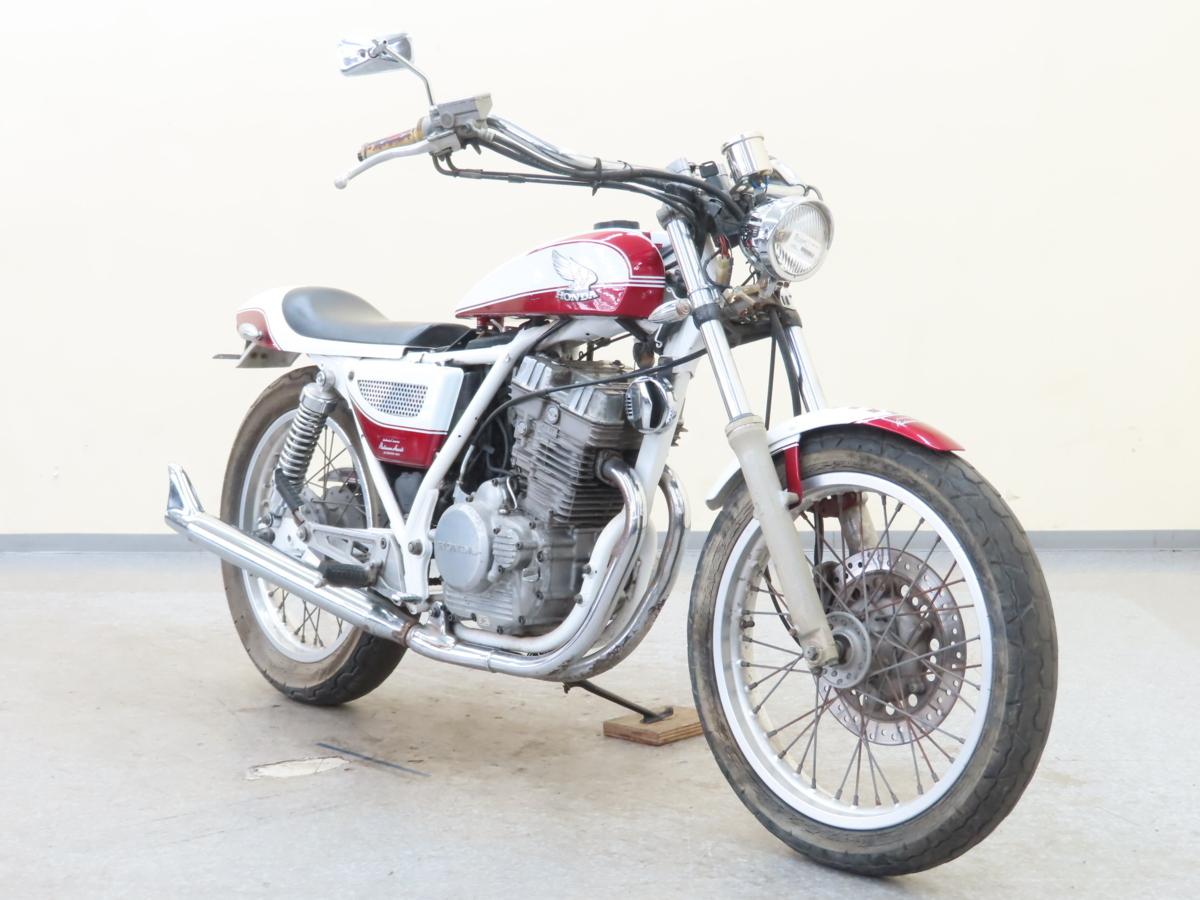 「特別出品!! ホンダ GB250クラブマン 【動画有】ローン可 MC10 250cc カスタム車 トラッカーカスタム clubman HONDA 売り切り」の画像1