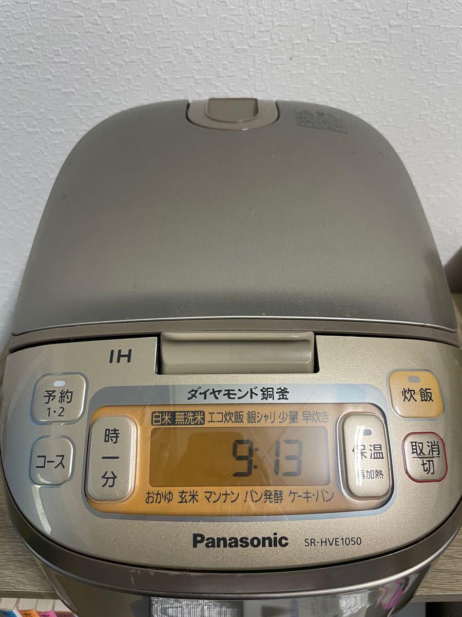 【中古】IHジャー炊飯器 パナソニック SR-HVE1050 Panasonic