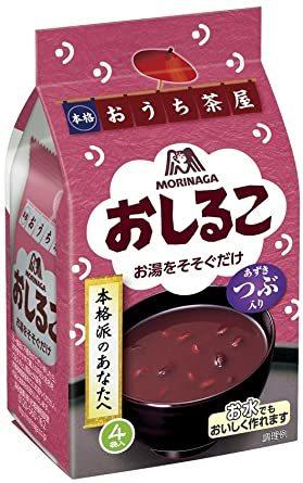 森永製菓 おしるこ 4袋入×5個_画像1