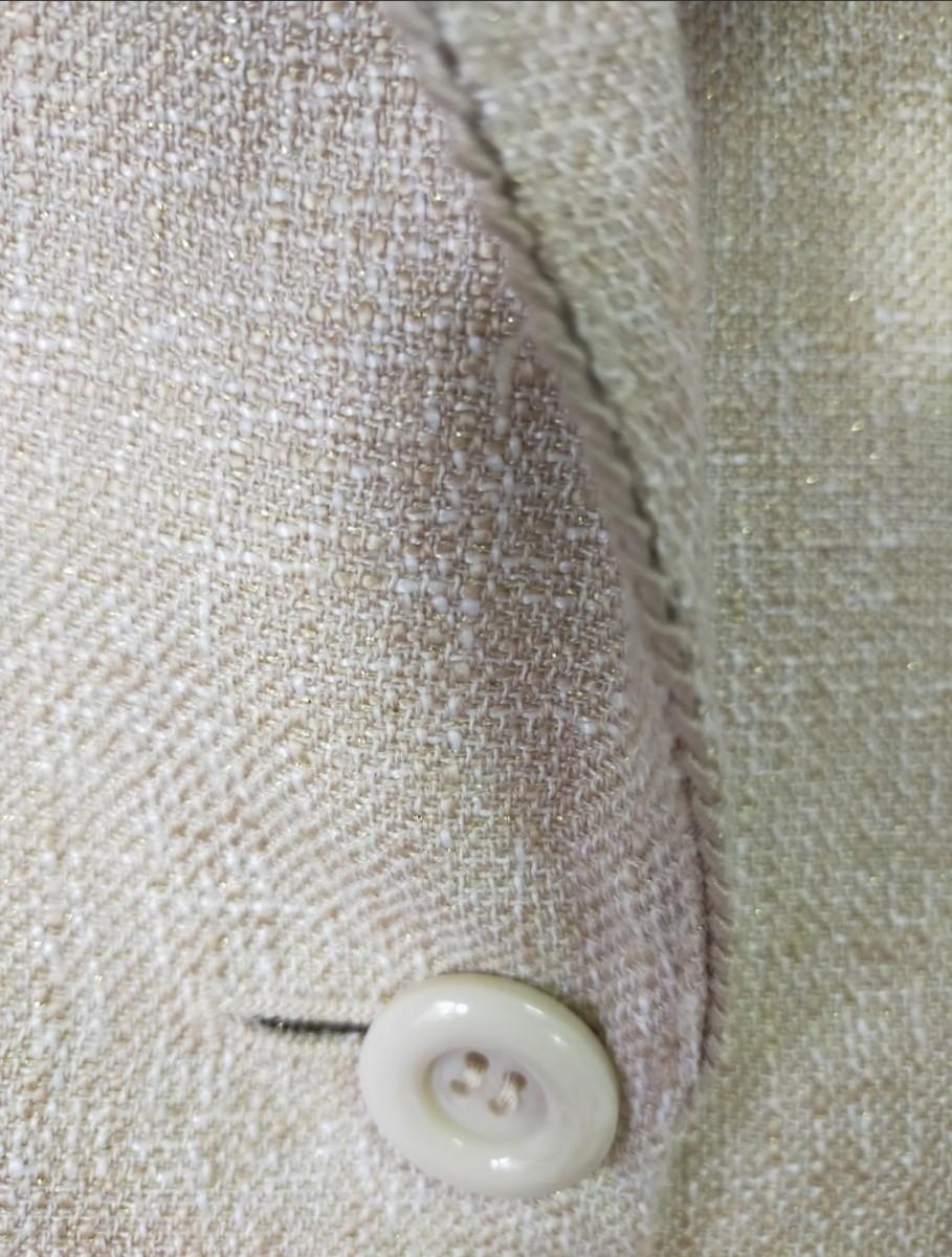 ジャケット ベージュ テーラードジャケット 美品