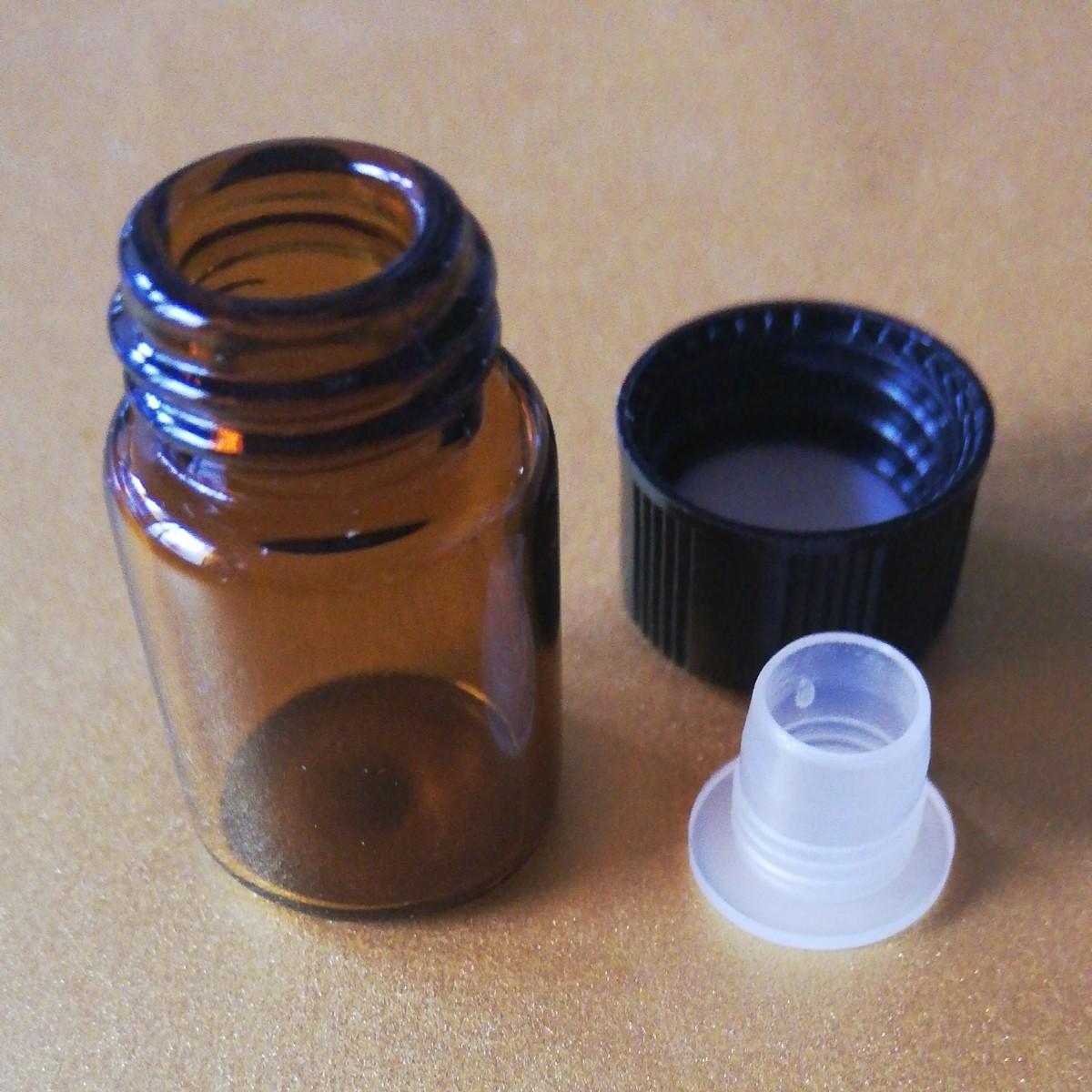 doTERRA ドテラ エッセンシャルオイル用 ミニボトル 容量2ml 未使用空き瓶 10個セット