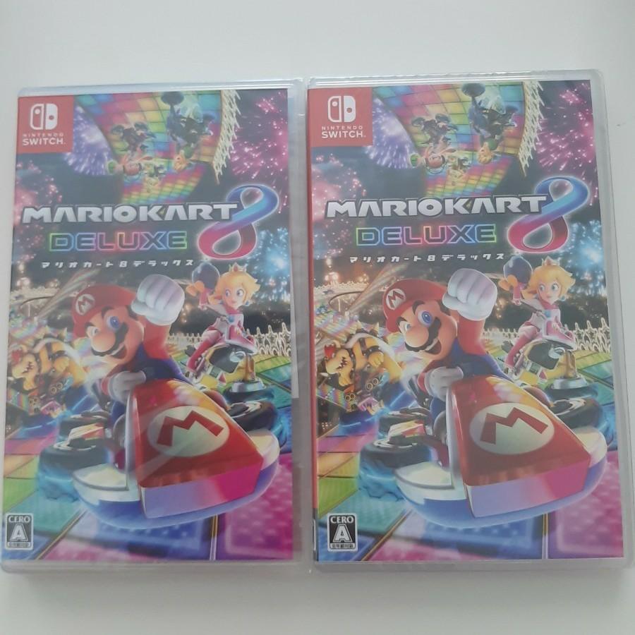 マリオカート8 デラックス Nintendo Switch ニンテンドースイッチ ソフト 任天堂 ニンテンドー 新品 2本