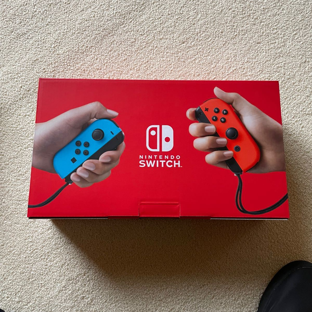 Nintendo Switch ニンテンドースイッチ本体 ネオンブルー ネオンレッド 【新品未使用】