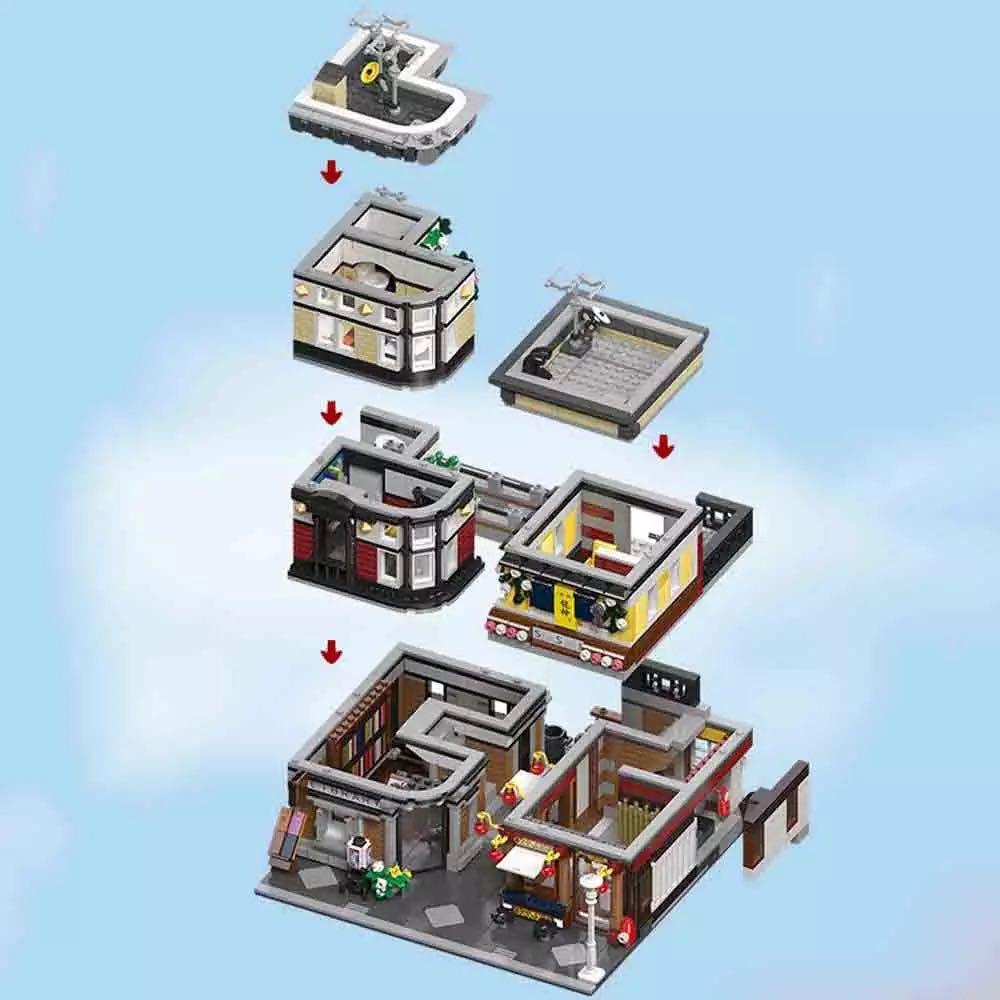 LEGO互換 オリエント駅_画像3