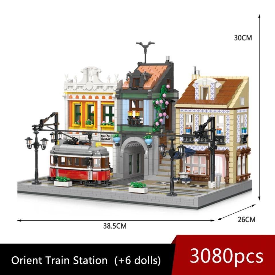LEGO互換 オリエント駅_画像6