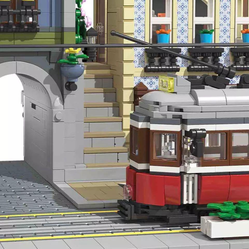 LEGO互換 オリエント駅_画像5