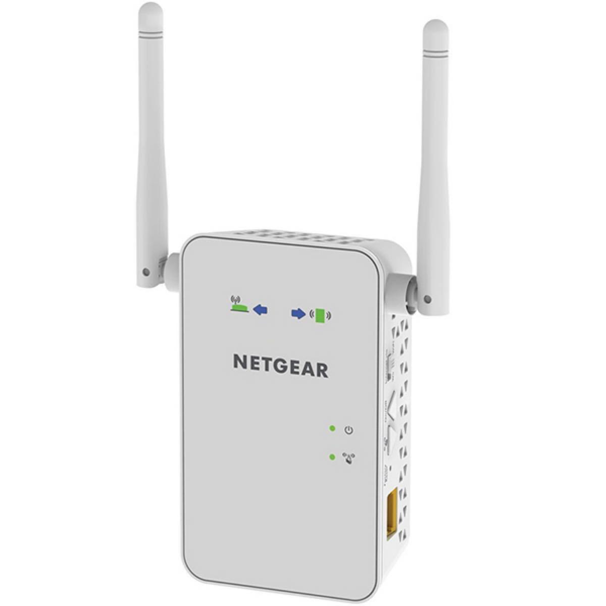 NETGEAR 無線LAN中継器 11ac対応 450+300Mbps 2.4GHz/5GHz EX6100-100JPS
