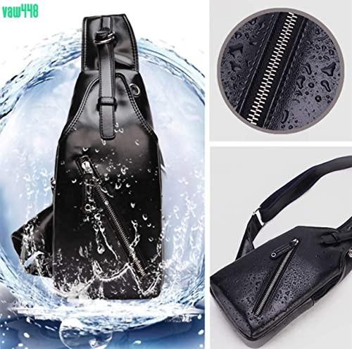 メンズ ボディバッグ 大容量 ワンショルダーバッグ 斜めがけ ショルダーバッグ iPad収納可能 防水 USBポート お洒落 ブラック