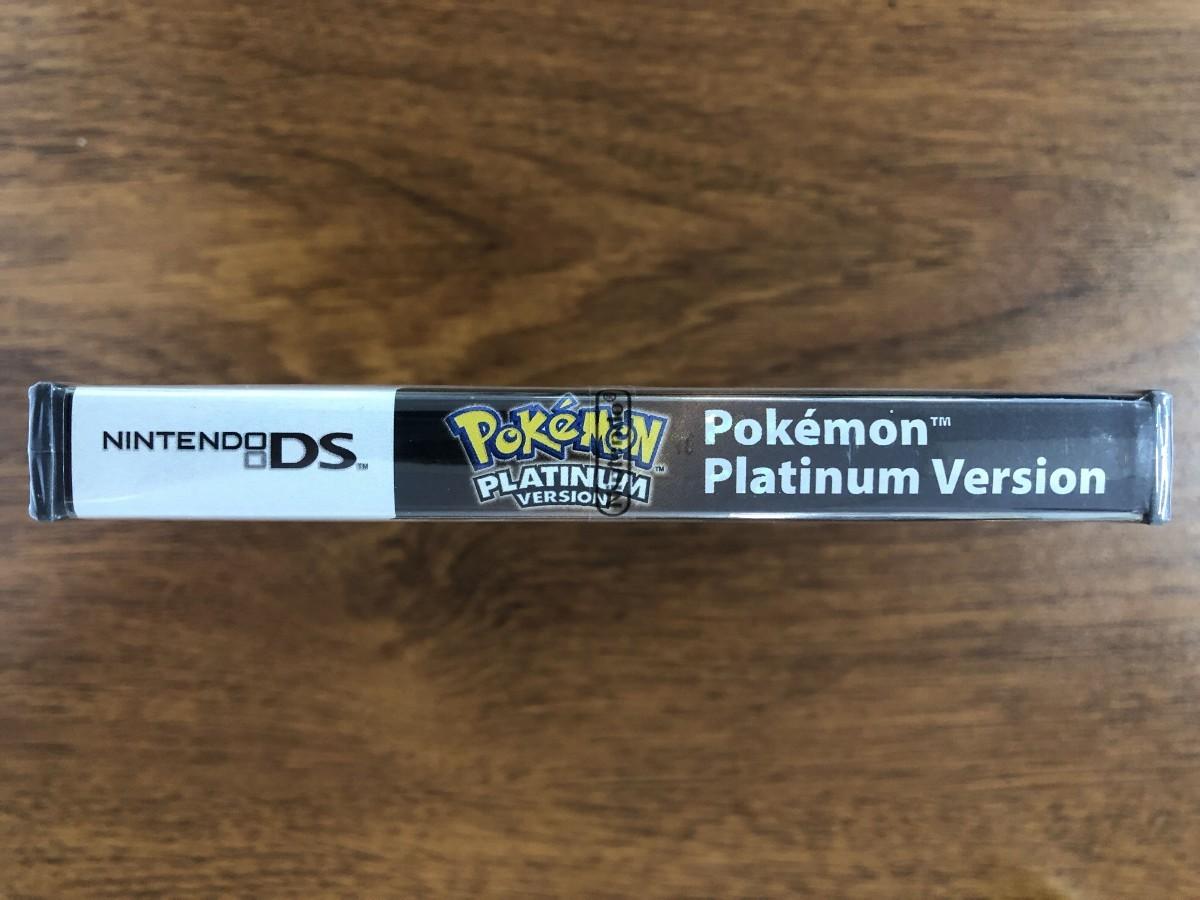 DS ポケットモンスタープラチナ 海外版 未開封