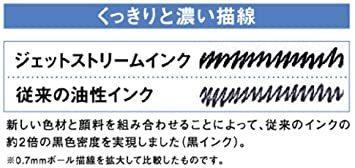 シルバー 0.7mm 三菱鉛筆 油性ボールペン ジェットストリームプライム 0.7 シルバー SXN220007.26_画像6