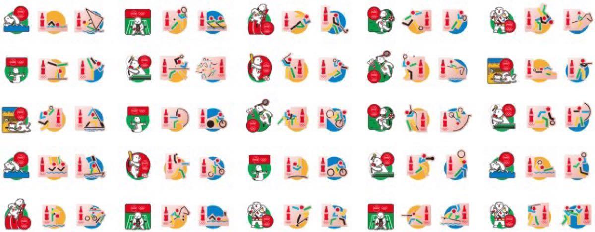コカ・コーラ オリジナル ピンズセット 全25種 コンプリート 非売品 東京オリンピック 東京2020 ピンバッチ ピンバッジ