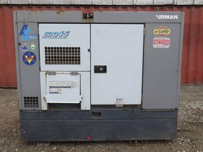 「発電機 北越工業 SDG45AS 2010年製 8010h」の画像1