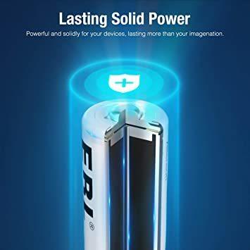 単4電池 EBL 単4電池 充電式電池 1100mAhニッケル水素充電式電池、収納ケース付き8パック 単四電池 充電池_画像5