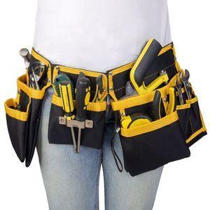 多機能♪工具バック ウエストポーチ 腰袋 ポーチベルト収納 作業 DIY 大工 ツールバッグ ウエストバッグ 電気技師 電気工事 MM415_画像1