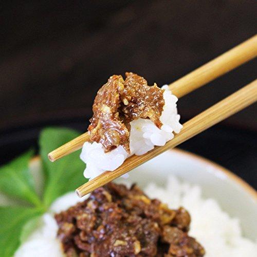ご飯のお供 北海道産 十勝 牛しぐれ 90g2瓶 心ばかりギフトセット_画像3
