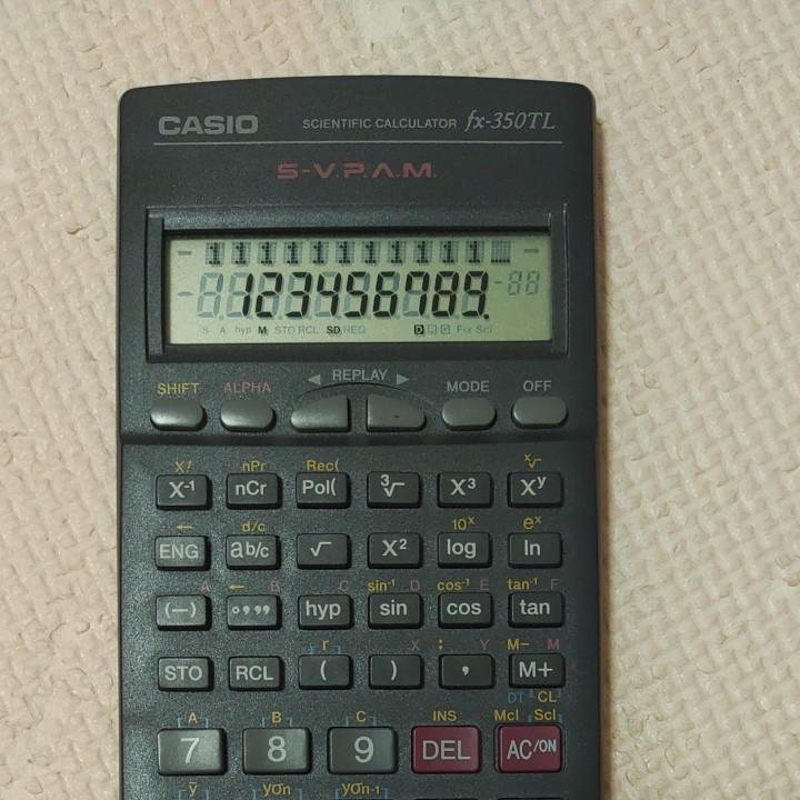 CASIO fx-350TL  関数電卓 カシオ 電卓