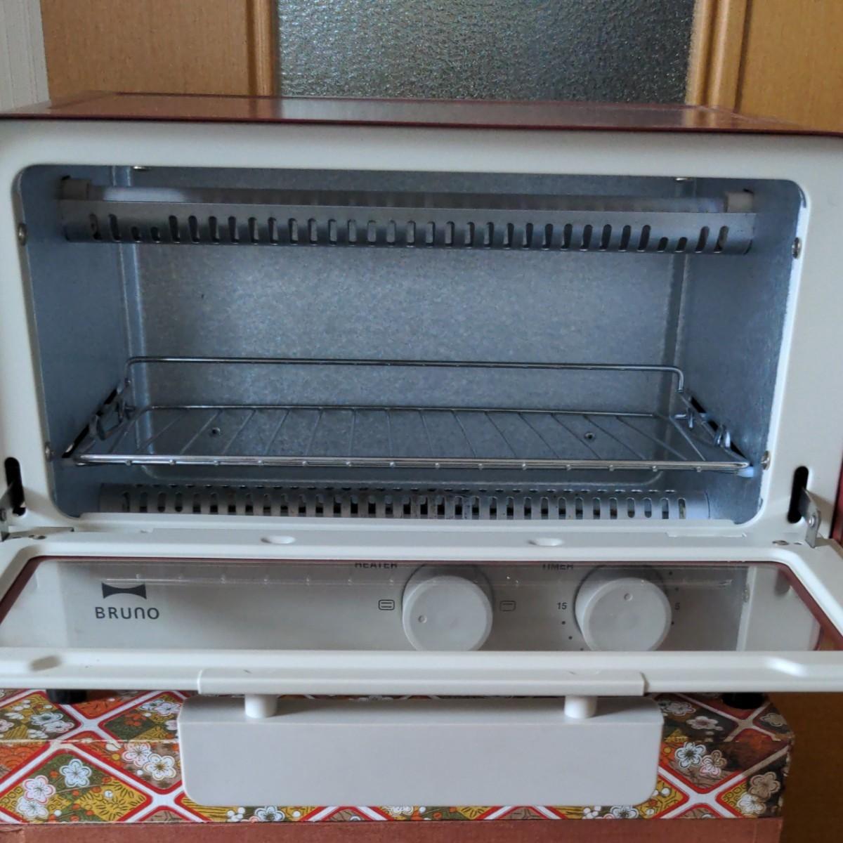 ブルーノ オーブントースター BOE052