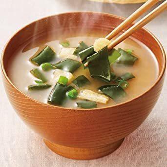 新品アマノフーズ フリーズドライ 味噌汁 ( なす わかめ 野菜 ) 3種類 30食 うちの おみそ汁 小袋ねぎ1袋WS6I_画像4