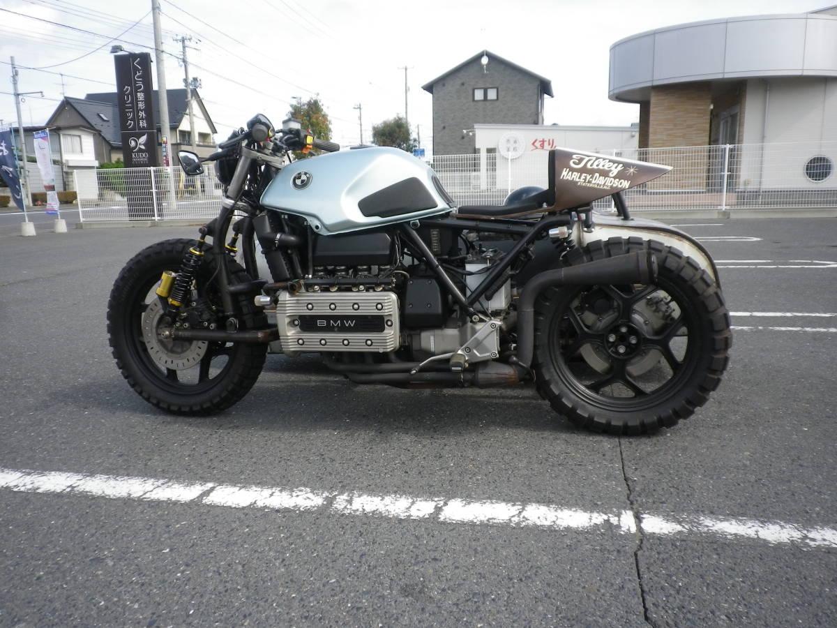 「BMW ホットロッドサイドカー K100 2Vベース」の画像2