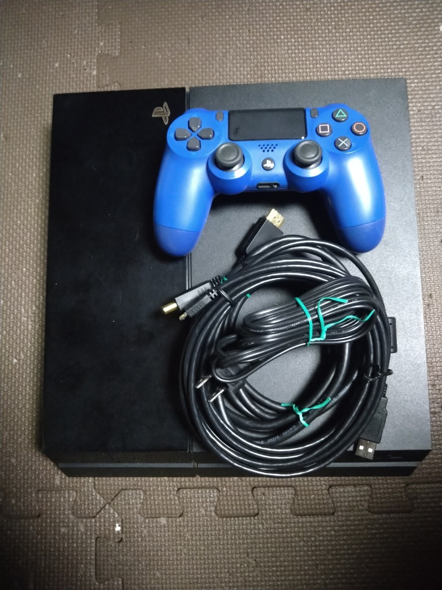 PS4本体 ジェットブラック  500GB CUH-1100A