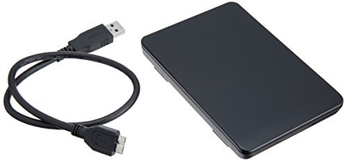玄人志向 2.5インチ USB3.0接続 ハードディスクケース GW2.5TL-U3/BK_画像1