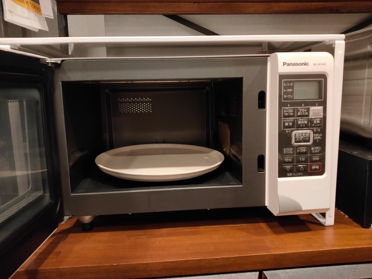 Panasonic オーブンレンジ ne-m154c  2012年製