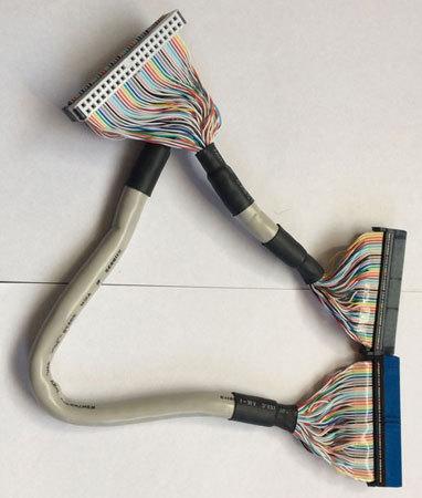 IDEスマートケーブル/ATA-66/100用/40Pin/1:2/45cm(PN-S13-45B)_画像1