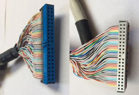 IDEスマートケーブル/ATA-66/100用/40Pin/1:2/45cm(PN-S13-45B)_画像2