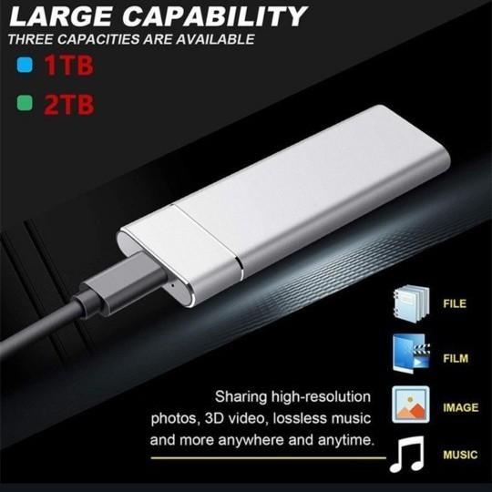 ポータブル SSD 2TB