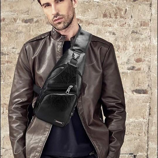 ボディバッグ USBポート ワンショルダーバッグ 斜め掛けバッグ イヤホン 大容量 斜めがけ ショルダーバッグ メンズボディバッグ