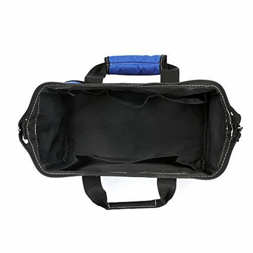【ご入金後3日以内発送】サイズ13-Inch WORKPRO ツールバッグ 工具差し入れ 道具袋 工具バッグ 大口収納 600Dオ_画像5