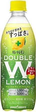 ポッカサッポロ キレートレモンダブルレモン 500ml ~24本_画像1