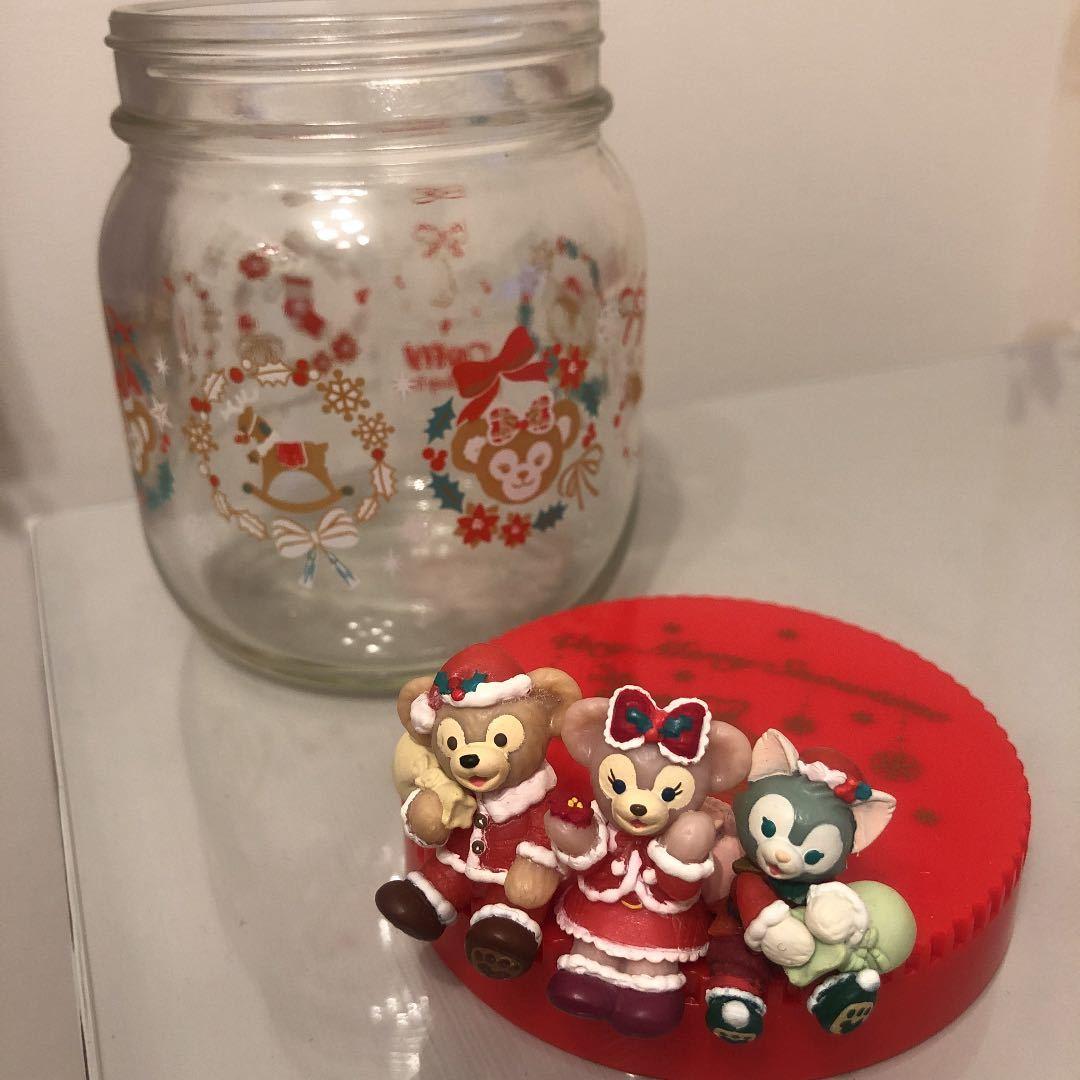 ダッフィー シェリーメイ ジェラトーニ ガラス瓶 クリスマス/ダッフィー&フレンズ_画像4