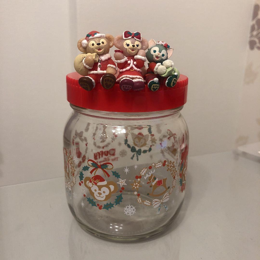 ダッフィー シェリーメイ ジェラトーニ ガラス瓶 クリスマス/ダッフィー&フレンズ_画像1