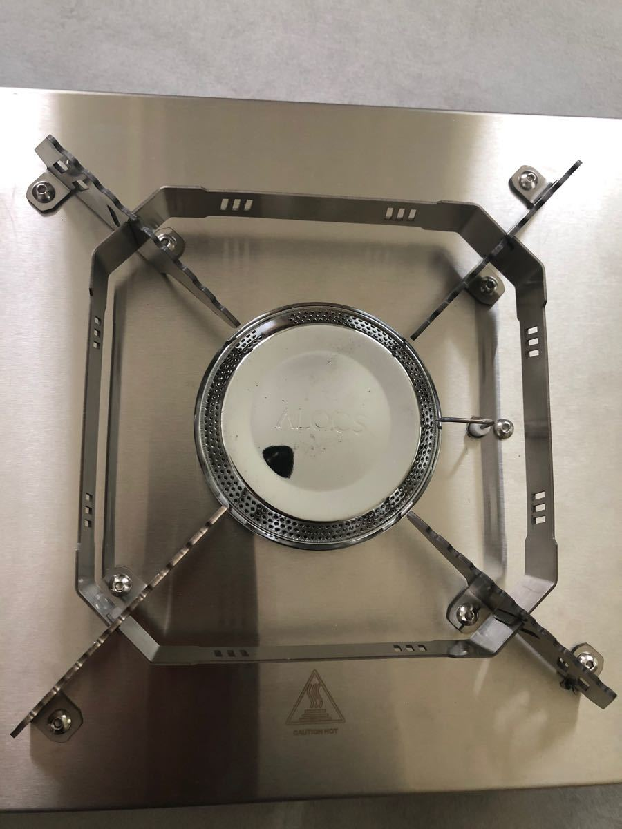 ALOCS  ハイパワーバーナー テーブル薄型 シングルバーナー 最大5500kw