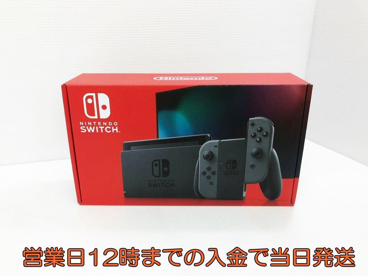 新品・未使用品 新型 Nintendo Switch 本体 (ニンテンドースイッチ) Joy-Con(L)/(R) グレー 1A0422-005yy/F4_画像1